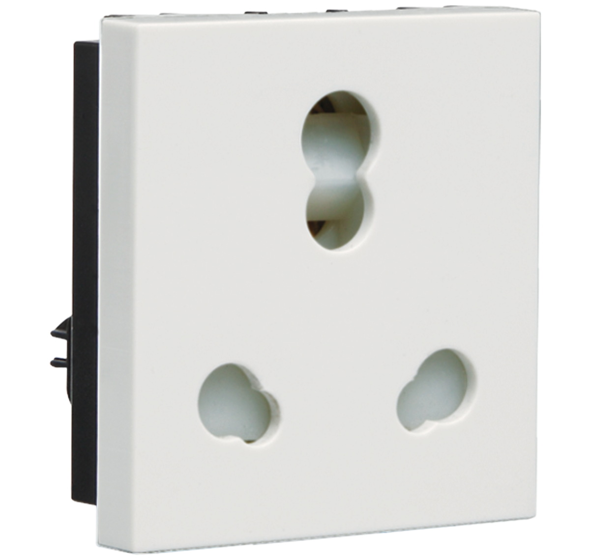 Crabtree - 6 A - 16 A  3 Pin Combined Shutter Socket