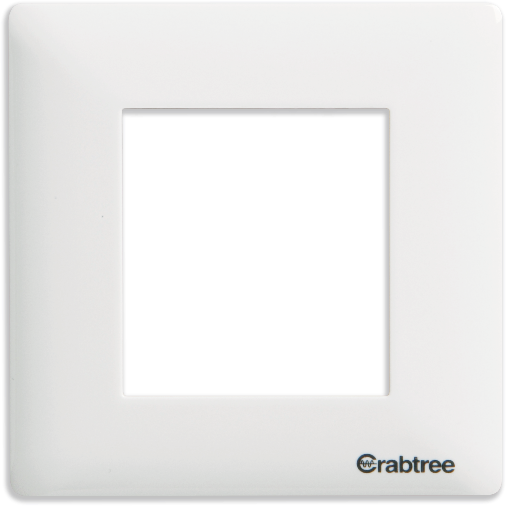 Crabtree - 2 M cover plate