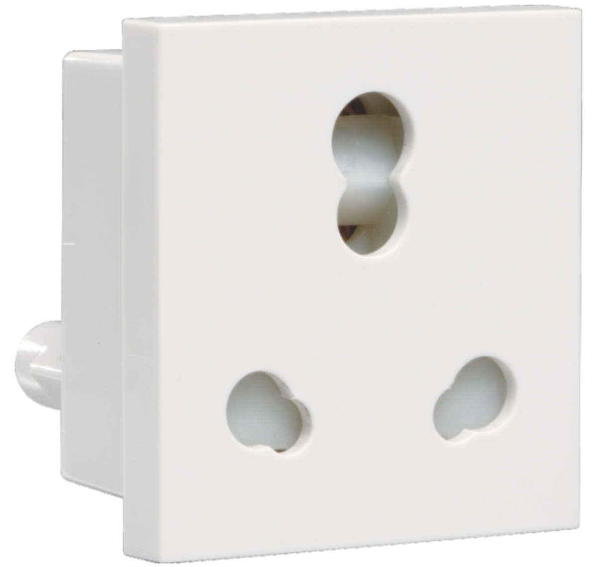 Crabtree - 6 A - 16 A 3 pin combined shuttered socket