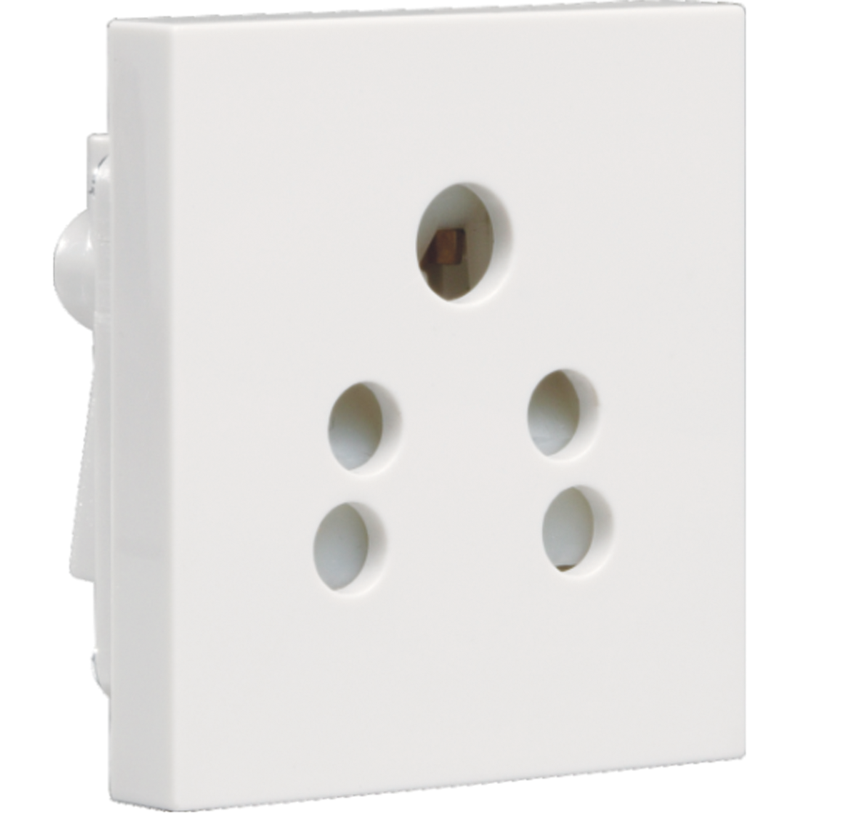 Crabtree - 6 A 5 pin shuttered socket