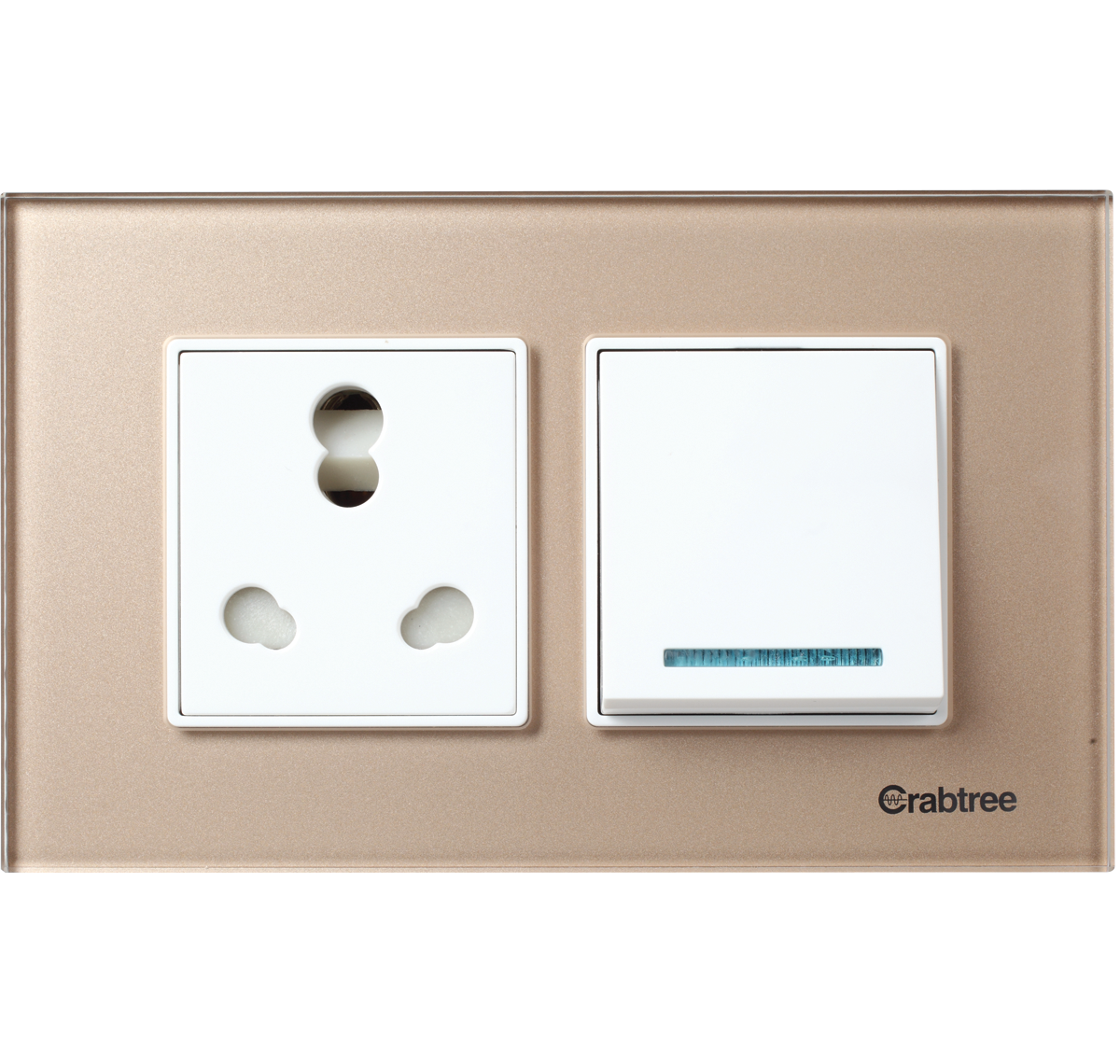 Crabtree India Usb Plug Sockets Push Button Switches 3 Way 4 Switch M Cover Plate Pearl White