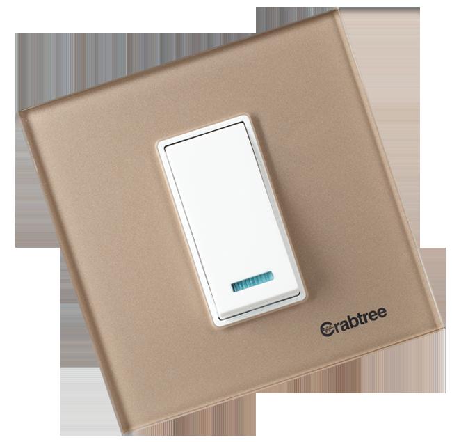 Crabtree India - USB Plug Sockets, Push Button Switches, 3-Way ...