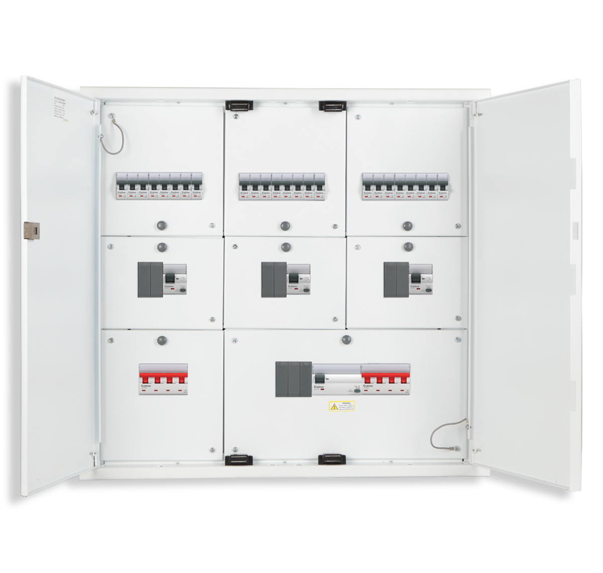 Crabtree - 8 Segment DD Distribution Board 4 WAY
