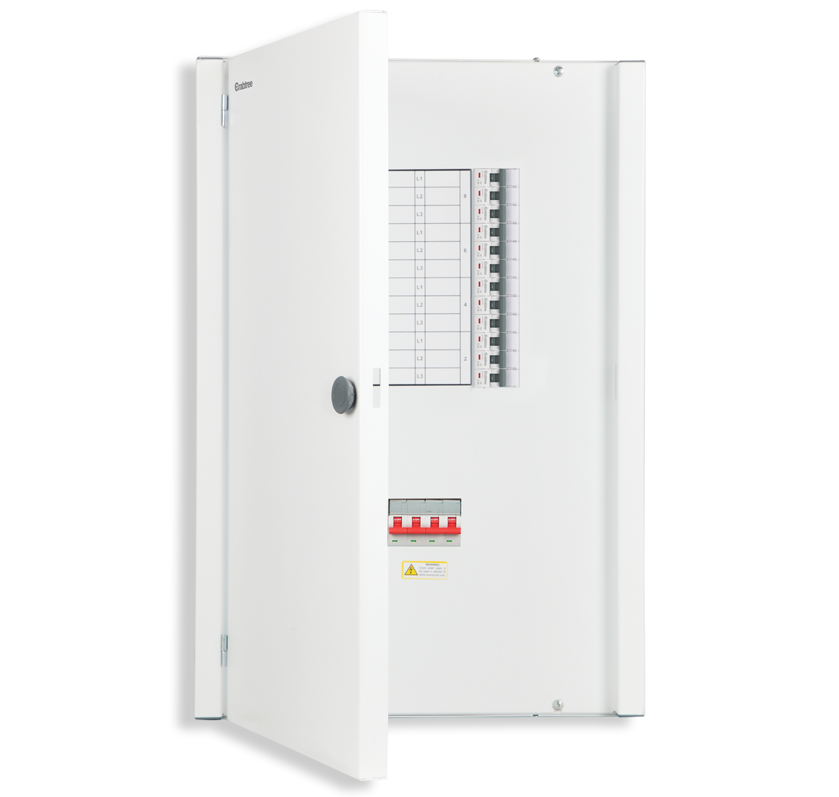 Crabtree - distribution board TPN-MCB 8 WAY