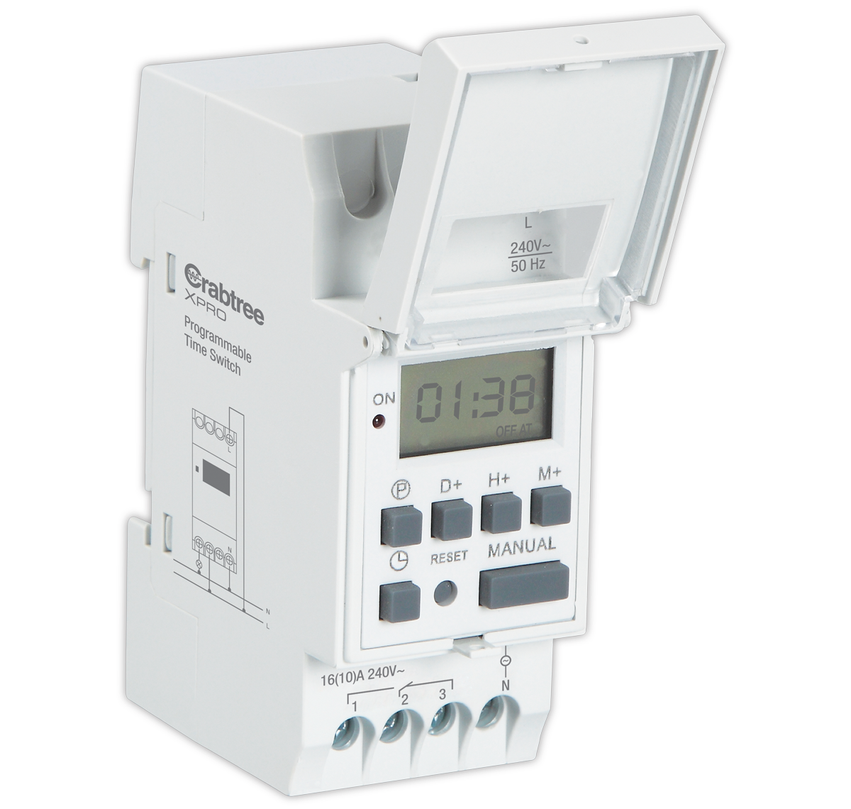 Crabtree - Digital Weekly Programmable Time Switch